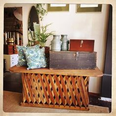 ANOUK offers an eclectic mix of vintage/retro furniture & décor.  Visit us: Instagram: @AnoukFurniture  Facebook: AnoukFurnitureDecor   January 2016, Cape Town, SA. Retro Furniture, Furniture Decor, January 2016, Patio Table, Cape Town, Entryway Tables, Retro Vintage, Facebook, Instagram