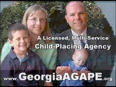 Adoption Agency East Point GA, Adoption Info, Georgia AGAPE, 770-452-999... https://youtu.be/B1DZF7QR4ao