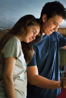 THE SPECTACULAR NOW by Tim Tharp (2013)   Features Shailene Woodley, who is already signed on for the upcoming DIVERGENT movie (2014).