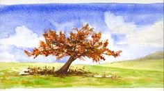 Apple Tree Collection  Watercolor Greeting Cards by janemayjones, $12.00