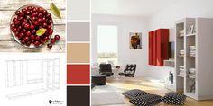 Adaugă un strop de culoare unui decor în nuanțe neutre 🍒 Living, Curtains, Home Decor, Neutral, Brussels, Blinds, Decoration Home, Room Decor, Interior Design