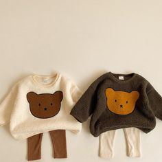 Sweaters And Leggings, Tops For Leggings, Shower Bebe, Baby Pullover, Baby Girl Winter, Embroidered Sweatshirts, Cute Baby Clothes, Winter Baby Clothes, Baby Grows