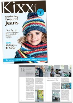 Magazine production by Anjuska Slijderink