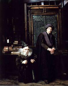 Professor Flitwick & Professor Quirrell
