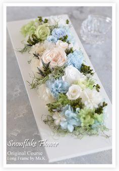 Flower Frame, Flower Art, Flower Shop Decor, Beautiful Web Design, Diy And Crafts, Paper Crafts, Yuki, How To Preserve Flowers, Artificial Flowers