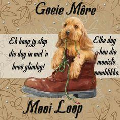 Good Morning Good Night, Good Morning Wishes, Day Wishes, Morning Messages, Good Morning Quotes, Lekker Dag, Afrikaanse Quotes, Goeie Nag, Goeie More