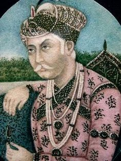 """Jallaluddin Mohammed Akbar known as """"Akbar the Great"""" 1542-1556-1605 The greatest of all mughal emperors"""
