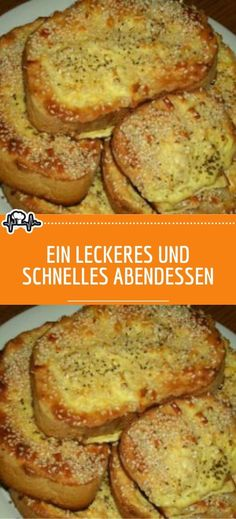 Ein leckeres und schnelles Abendessen If you are looking for a recipe for a quick dinner, which is ready in 15 minutes, you do not need to search ingredients 8 slices of wheat bread 2 eggs 150 g of sour cream 100 g of fresh cheese – Daily Home Workout, Finger Foods, French Toast, Food And Drink, Low Carb, Yummy Food, Bread, Dinner, Breakfast