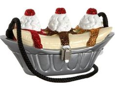 Banana split purse! Not very practical, but a great conversation starter for sure.