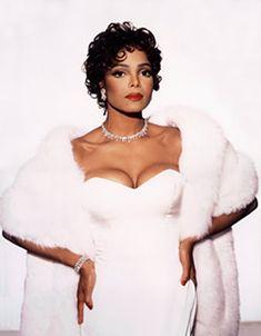 Janet Jackson - Firooz Zahedi, 1996 - Janet as Dorothy Dandrige Janet Jackson Baby, Jo Jackson, Jackson Music, Jackson Family, Michael Jackson, Janet Jackson Unbreakable, Black Music Artists, Vintage Black Glamour, Toni Braxton