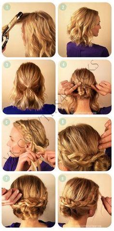 braid/bun option