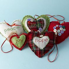 christmas ornaments..it's never to early to think about them!