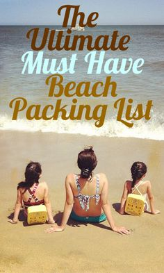 Ultimate All-Day MUST HAVE Beach Packing List for Families with Kids (Sources Included!)
