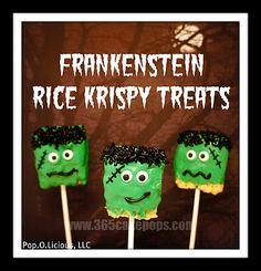 This is a great way to create a treat for the kids on Halloween.....