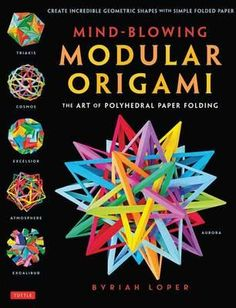 Modular origami is the latest craze in paper folding! These three-dimensional models are created from a number of small pieces of paper that are easily folded and then cleverly fit together to form a spectacular shape. They range from paper polyhedra to bristling buckyballs that are reminiscent of sea urchins--to ornate flower-like spheres. Each piece of paper is held by the tension of the other papers--demonstrating the remarkable hidden properties of paper...