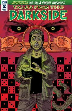 Check out our other reviews of Tales from the Darkside (1)After reviewing Joe Hill and Gabriel Rodriguez's stellar Tales from the Darkside #1, I was excited to see what they would come up with next. The isolated tale of hedonism and redemption from issue one was excellent and flowed naturally, while hinting at a bigger …