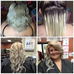 Hot fusion extensions by @ Gabby Ceballos Instagram:BeautyBella08 Facebook:BeautyBellaHair
