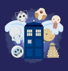 Awesome #DoctorWho themed animated dropcaps! Check it out!!
