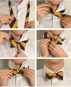The essentials to tying a bow tie
