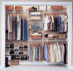 ClosetMaid - wire shelving & wardrobe solutions. Declutter & organise.