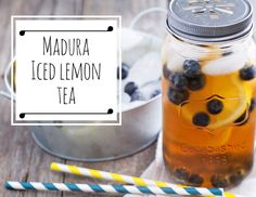 Lemon Iced Tea - A refreshing iced tea perfect for any occasion ... recipe here
