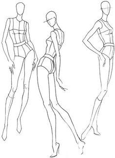 【服装设计必备】人体动态