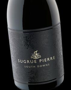 Sugrue Pierre - Stranger & Stranger Like UV design Wine Label Design, Bottle Design, Sparkling Wine Brands, Wine Bottle Labels, Wine Bottles, Stranger And Stranger, Beer Packaging, Expensive Wine, Wine And Liquor
