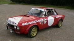 Mein Lancia Fulvia - GP - Historic Rallying