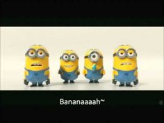 Banana And Potato Song By Minions + Lyrics (Despicable Me 2 Trailer) - YouTube... Makes me laugh every time!