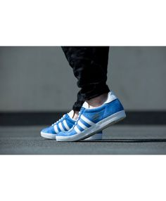 reputable site 5b215 63066 Adidas Originals Gazelle Blue White On Feet Mens Sale