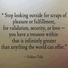look for | the treasure within