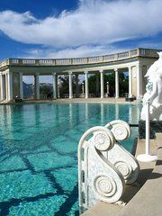 Hearst Castle. I want to swim in this pool.