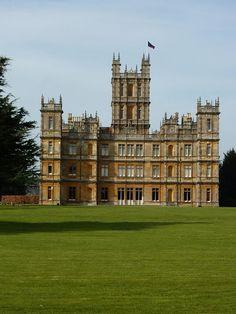 o Verdadeiro Castelo de Downton Abbey