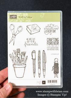 Crafting Forever stamp set, Stampin' Up!, Brian King