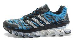 finest selection 2ded2 a76e2 Wholesale Adidas Springblade Camo Sky Blue Sliver Black Men s Running shoes  Online