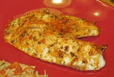 Hot Eats and Cool Reads: Baked Parmesan-Crusted Tilapia Recipe