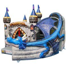 Duplay Dragon Age Commercial Bouncy Castle Kiddicare.com
