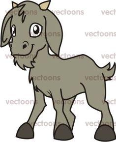 Happy Goat Cartoon - Goat - Animals - Buy Clip Art | Buy ... Stone Painting, Rock Painting, Goat Cartoon, Happy Goat, Animal Templates, Baby Goats, Cupcake Ideas, Painted Stones, Happy Baby
