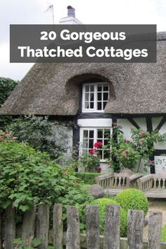 English thatched cottages are some of the most beautiful buildings in the country. Here are 20 of the best>>>