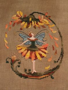 Nora Corbett (of Mirabilia) that appeared in the September 2009 issue of Cross-Stitch & Needlework magazine