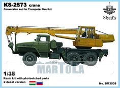 KS-2573 autocrane conv. for Trumpeter Ural kit