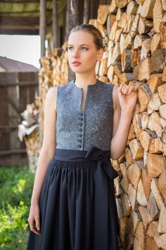 Dirndl Lilie LodenHirsch Dirndl Blouse, Ruffle Blouse, German Women, Trends, Traditional Outfits, Cotton, Clothes, Beauty, Lederhosen