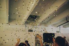 confetti canon, a must =)