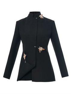Embellished crepe jacket | Christopher Kane | MATCHESFASHION.COM