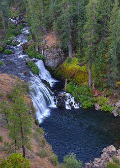 ✯ McCloud River and Middle Falls - CA