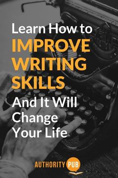 If you want to attract readers who are raving fans, you'll need to know how to improve writing skills. These 15 tips will give you a leg up on the competition and boost your writing confidence. Improve Writing Skills, English Writing Skills, Writing Advice, Writing Resources, Writing Ideas, Writing Quotes, English Vocabulary, Creative Writing Tips, Cool Writing