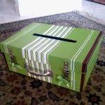 valigia porta biglietti regalo matrimonio - gift card holder Wedding