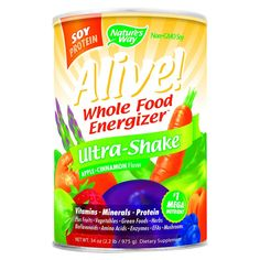 I'm learning all about Nature's Way Alive Soy Ultra-Shake Apple