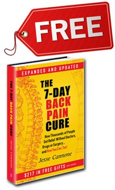 7-Day Back Pain Cure - FREE Back Pain Book ::: http://www.losethebackpain.com/aff/index.php?p=chusiong&w=7DayCure