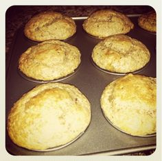 E. A. T.: Whole 30 Banana Muffins.  Sub all coconut oil.  For Pumpkin muffins, 1 banana, 1 c. pumpkin puree, pumpkin seeds for top.
